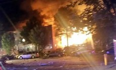 Two dozen people, firefighters injured in explosion, fire in Maryland