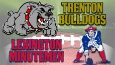 Trenton versus Lexington football