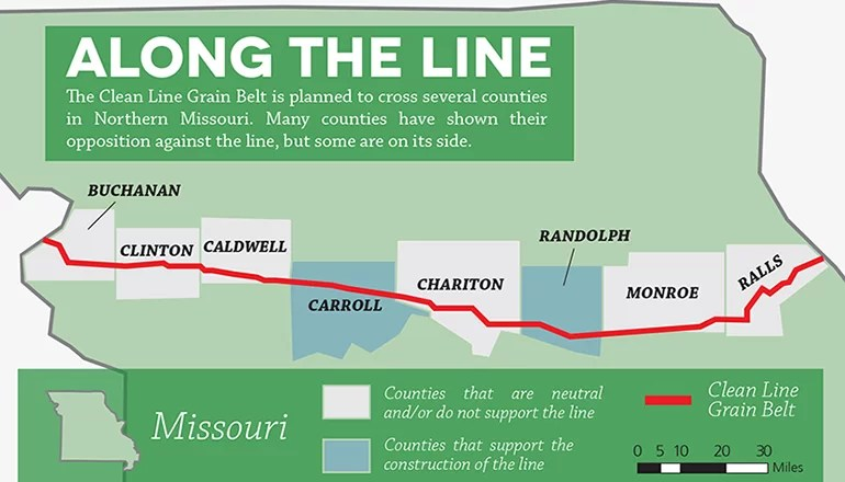 Missouri Public Service Commission to hold area hearings on Grain Belt Express
