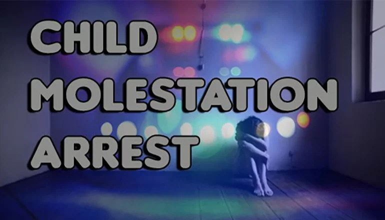 Galt man arrested on child molestation charge