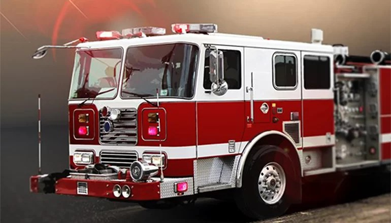 Laredo firefighters respond to combine fire