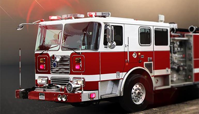 Saturday night fire destroys storage building southwest of ConAgra in Trenton