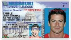 Missouri drivers license