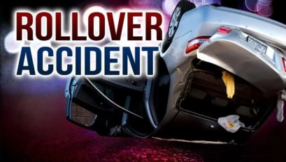 Hydroplaning causes crash on Route H