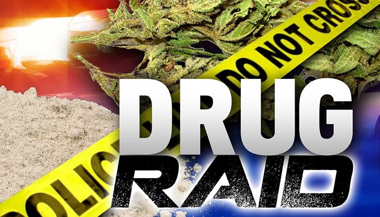 Massive drug raid in Chillicothe results in arrests and issuance of 30 warrants