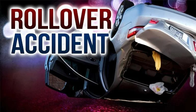 Two hurt in Friday rollover crash west of Utica