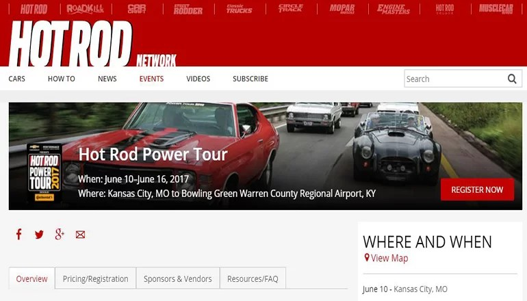 Hot Rod Power Tour to travel through north Missouri