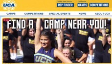 Universal Cheerleaders Association Camp Website