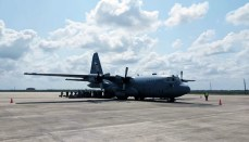 Aircrew returns home as two more head to Texas