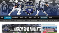 Blue-Grey all american football