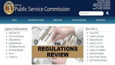 Missouri Public Service Commission Website