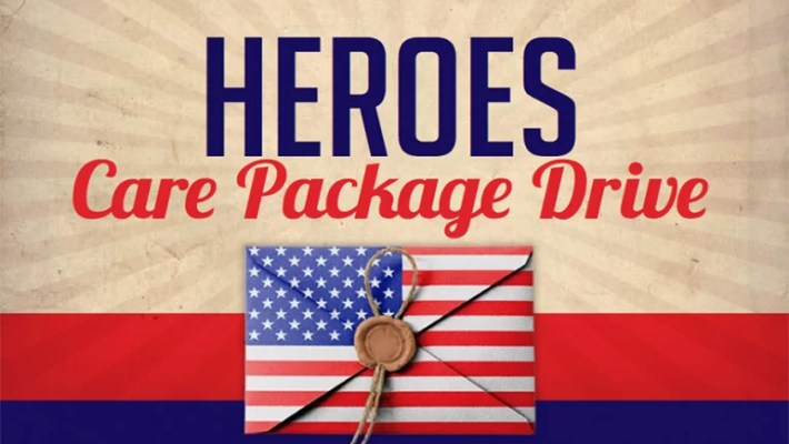 Heroes Care Package Drive