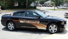 Livingston County Sheriff Car