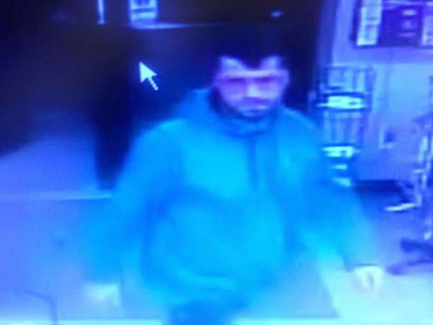 Anthony Floyd seen on this security camera footage in Iowa