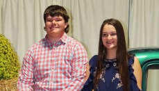 Chillicothe Barnwarming King & Queen 2017: Lane Peters, Liberty Cox