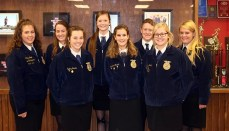 Chillicothe FFA Fall Speaking Contests participants