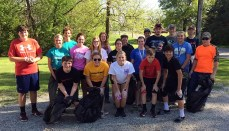 Trenton FFA Picks Up Trash 2018
