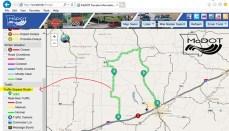 Bypass Traveler Map Zoomed in