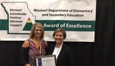Missouri Schoolwide Positive Behavior Support award for Rissler