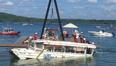 Audio: Man who helped rescue Duck Boat victims sues for