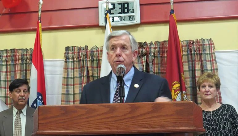 Audio: Governor Parson says he will sign abortion bill, even though it does not include rape or incest exceptions