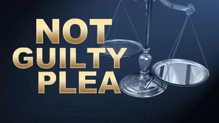 Not Guilty Plea