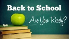 Back To School, Are You Ready?