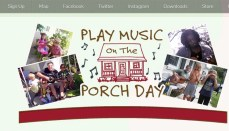 Music on the porch day