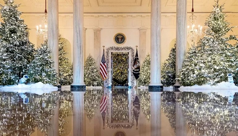 Audio: Trenton woman chosen to help decorate White House for Christmas 2018