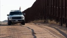 Border Wall between United States and Mexico