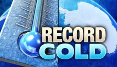 Record Cold Graphic