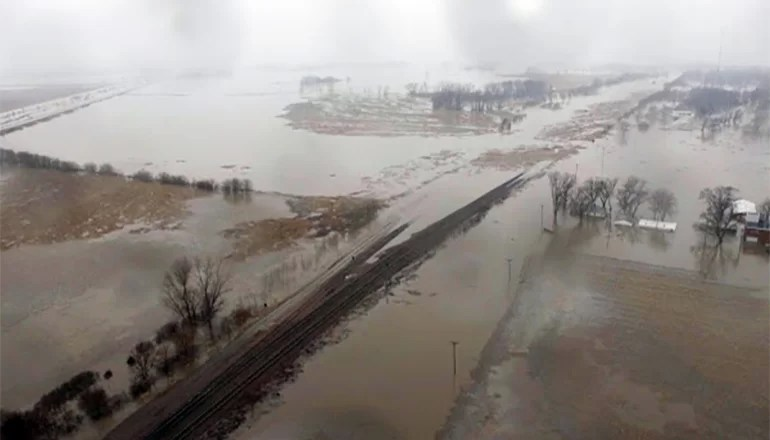 Audio: Missouri Farm Bureau President reports about 187,000 acres of land underwater in Missouri