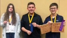 Pleasant View Regional Science Fair Winners 2019