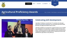 Agricultural Proficiency Awards Website