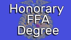 Honorary FFA Degree