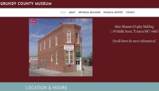 Grundy County Museum Website
