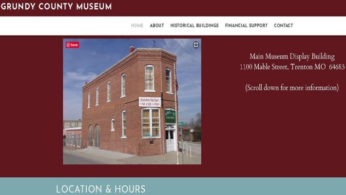 Grundy County Museum Website