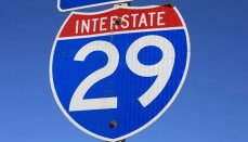 Interstate 29 sign