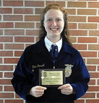 Kaci Persell Awarded 2nd place At Missouri Public Speaking Academy
