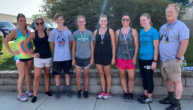 Male Winners: Andrew Rhoades, 1st; and Jay Hemenway, 2nd. Female award winners were: Halle Morgan, 1st; Kelli Helton, 2nd; and Jamie Luke. 3rd place received a free event t-shirt.