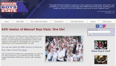 Missouri Boys State website