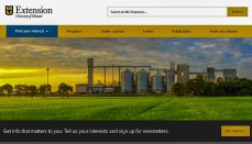 Main University of Extension website