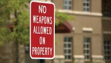 No Open Carry Allowed - No Weapons Allowed