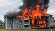 Princeton Apartment Fire
