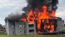 Princeton Apartment Fire