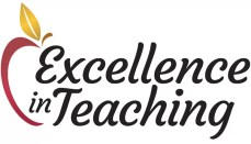Excellence in Teaching Award News Graphic
