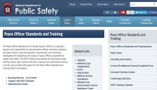 Peace Officer Standards and Training (POST) Commission website
