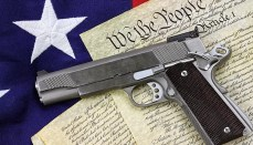 Handgun on Constitution right to carry 2nd Amendment or Second Amendment