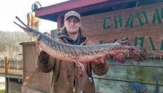 Devlin Rich - World Record Spotted Gar