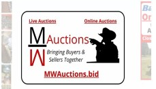 MW Auctions website